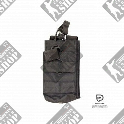 SINGLE DUO MAG POUCH BK