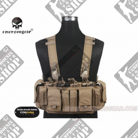 Emaerson Chest Rig Mayf. Style -UW cordura 500D Coyote