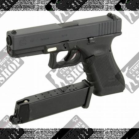 WE Pistola a Gas G17 Gen4 Nera