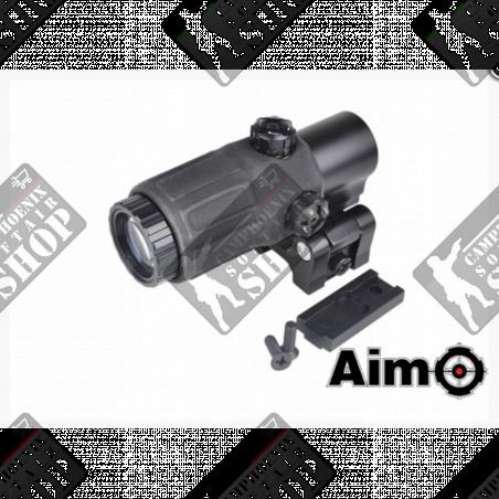 ETS G33 3X Tyle Magnfier Black - Aim-O