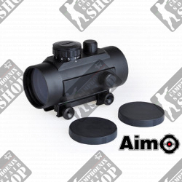 1X40 Red/Green Dot Black Aim-O